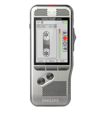 Digital Pocket Memo DPM7200 silber DSS/MP3