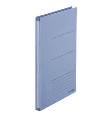 Platzspar-Ordner ZeroMax blau ausziehbare Rückenbreite von 1-10cm