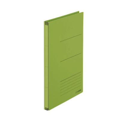Platzspar-Ordner ZeroMax grün ausziehbare Rückenbreite von 1-10cm