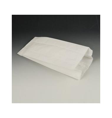Papierfaltbeutel a.Cellulose weiß 210x100x50mm 1000 St