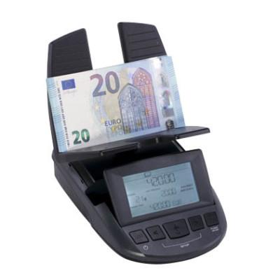 Geldwaage RS 2000 Banknoten + Münzen sortiert zählen