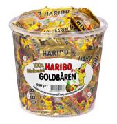 Goldbären Minibeutel 1 kg in PP-Dose 100 Btl