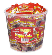 HappyCola Minibeutel 980g in PP-Dose 100 Btl
