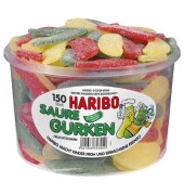 Fruchtgummi Saure Gurken PP-Dose 150 St
