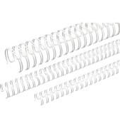 Binderücken Ring Wire 3:1 16,0 mm für 135 Blatt weiß