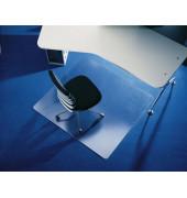 Bodenschutzmatte Rollt&Schützt 120 x 150 cm Form B für Teppichböden transparent Makrolon