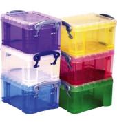 Aufbewahrungsbox 18CXL CD/DVD transparent 18 Liter 480 x 390 x 230mm