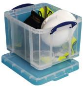 Aufbewahrungsbox 35 Liter XL Aufbewahrungsbox transparent