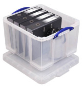 Aufbewahrungsbox 42C transparent 42 Liter 520 x 440 x 310mm