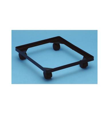 Rahmen mit Rollen für Aufbewahrungsboxen 18 Liter / 35 Liter