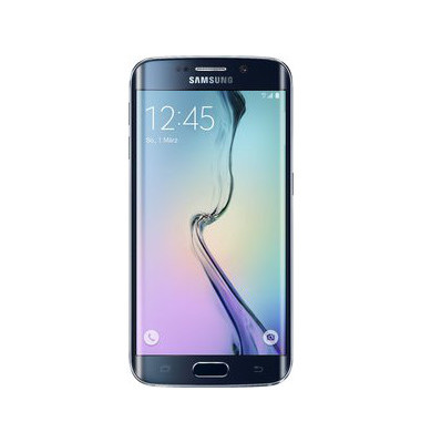 Smartphone Galaxy S6 Edge 64GB schwarz Android 5.0 12,95 cm