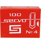 Büroklammern Servo 50mm vz verz. 50mm 100 Stück