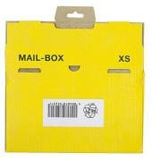 Versandkarton Mail-Box XS 244x145x38 mm gelb 1 Stück