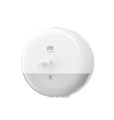 SmartOne Mini Spender für Toiletten- papier, weiß, HxBxT: 228 x 233 x 165