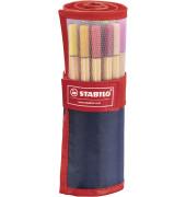 Stabilo point 88 Rollerset, aus Nylon, 25 Farben