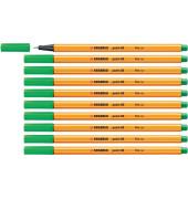 Tintenfeinschreib Point 88 10x grün 0,4mm