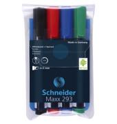 Boardmarker Maxx 293 4er Etui farbig sortiert 2-5mm Keilspitze