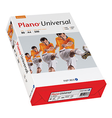Universal A4 80g Kopierpapier weiß 500 Blatt