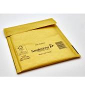 Luftpolstertaschen Gold A/000 braun innen: 110x160mm 100 St