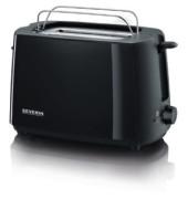 Toaster m.Brötchenaufsatz schwarz 700W AT2287