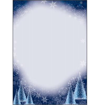Weihnachtspapier Night Sky A4 100 Blatt DP017