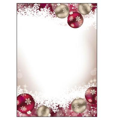 Weihnachtspapier Frozen A4 100 Blatt DP041