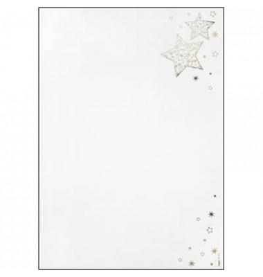 Weihnachtspapier Golden Glow A4 100 Blatt DP051