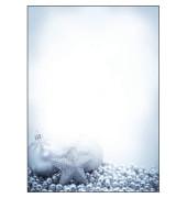 Weihnachtspapier Blue Mystery A4 100 Blatt DP081