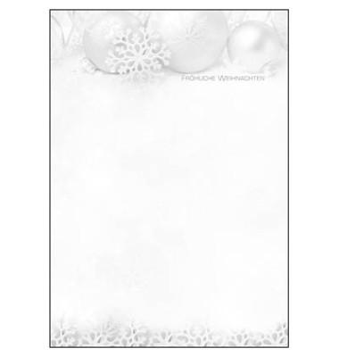 Weihnachtspapier Winter Sparkle A4 100 Blatt DP089