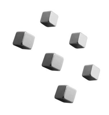 SuperDym-Magnete C5 CubeDesign silber 10x10x10mm 6 St