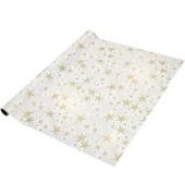 Weihnachts-Geschenkpapier Dancing Stars 70cm x 5m