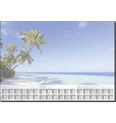 Schreibunterlage Beach 595x410x4 mm 3Jahr.