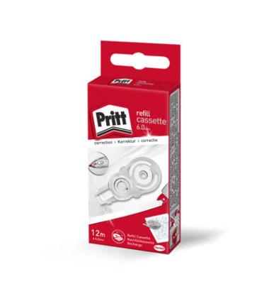 Korrekturroller Refillkassette 12 m x 6 mm, Push&Pull Funktion