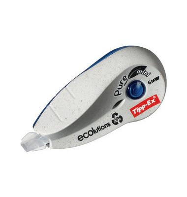 Korrektur-Roller ECO Pure Mini weiß 5mm x 6m