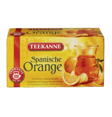 Früchtetee Spanische Orange 20x2,5g 20 Btl