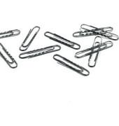 Aktenklammern 1227-25, 77mm, Metall verzinkt silber, 100 Stück