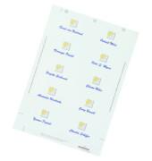 Namensschilder Etiketten BADGEMAKER weiß 90 x 60 mm 180 Stück