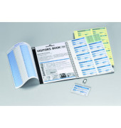 Nachfüllsatz für Besucherbuch 100 deutsch A4 3-fach