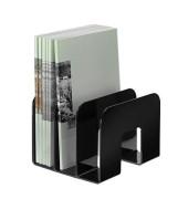 Prospekthalter TREND schwarz 3 Fächer 2 Stück