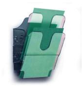 Prospektständ.A5 Flexiplus 2 transp. 18x25x10,5cm 2 Fächer