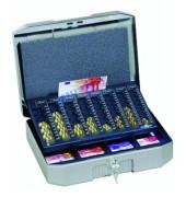 Geldkassette Euroboxx mit Zähleinsatz anthrazit/grau 352 x 276 x120mm