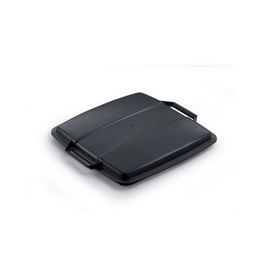 Deckel schwarz für DURABIN 90 Liter