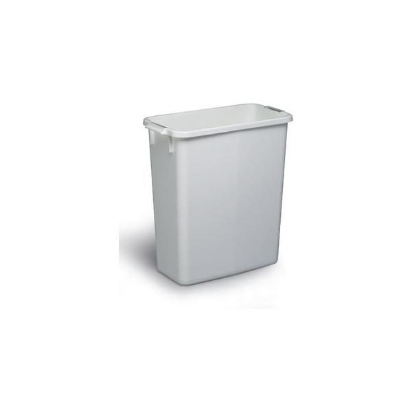 durable abfalltonne durabin 60 liter wei. Black Bedroom Furniture Sets. Home Design Ideas