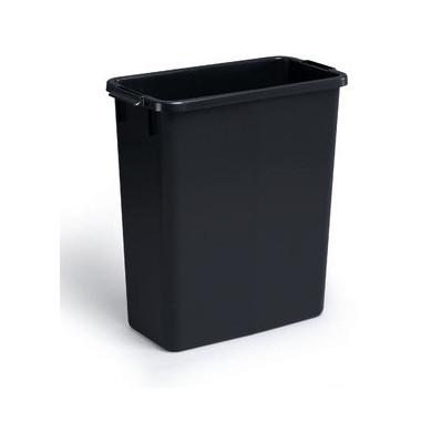 durable abfalltonne durabin 60 liter schwarz. Black Bedroom Furniture Sets. Home Design Ideas