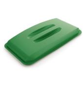 Deckel grün mit Griffmulden für DURABIN 60 Liter