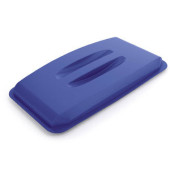 Deckel blau mit Griffmulden für DURABIN 60 Liter