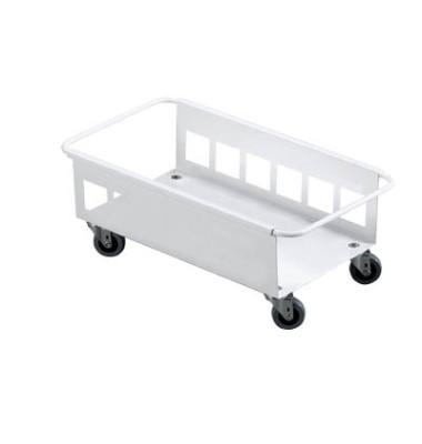 Fahrwagen TROLLEY weiß für DURABIN 60 Liter