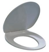 Toilettensitz m.Befestigungset weiß 390x40x450mm Kunstst.