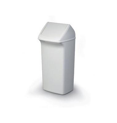 Abfalleimer DURABIN FLIP 40 Liter weiß