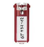 Schlüsselanhänger KeyClip rot 6 Stück